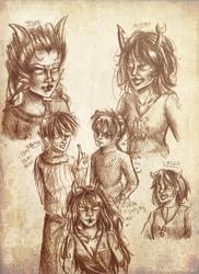 Homestuck: Doodles by liferaven