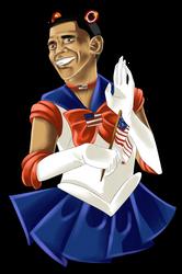 Sailor Obama by liferaven