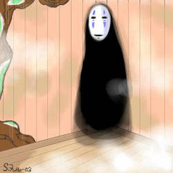 Another No-face Oekaki by sami-lioness