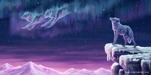 Spirits in the Sky by Vawie-Art