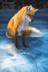 Frozen by Vawie-Art