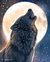 Howling Wolf 2 by Vawie-Art