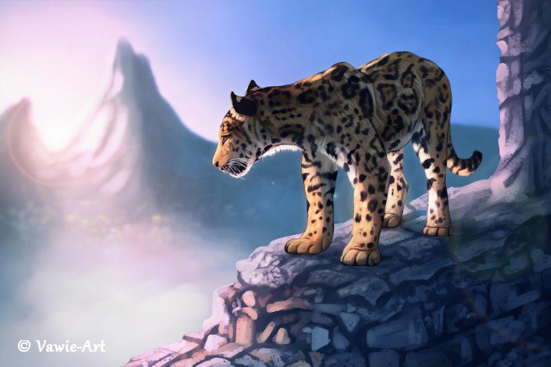 Jungle Ruins 2 by Vawie-Art
