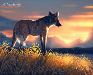 Maned Wolf 2 by Vawie-Art