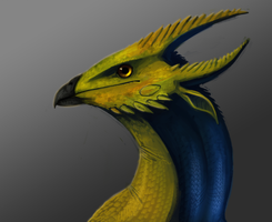 bird dragon by Brainmatters