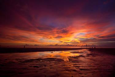 Burning Skies He Called Me by sage666ART