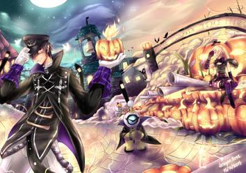 S4 league contest halloween: It's Pumpkin time!! by saldsx
