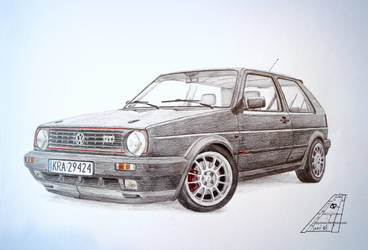 Golf 2 GTI by stachu96