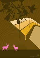 deer by boodin