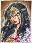 Wonder Woman Warrior  by geraldoneto