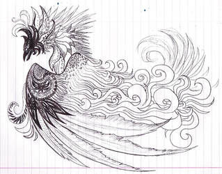 Psychedelic Phoenix by Nazgul666