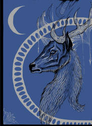 Moon Stag by Nazgul666