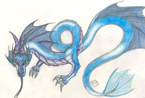 Water Dragon by Nazgul666