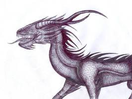Lizard Dragon by Nazgul666