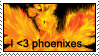 love phoenixes stamp by izka197