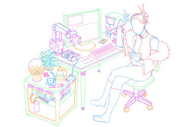 Kiyori Sketch by KiyoriAnoyui
