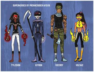 Superheroes by PrennCooder