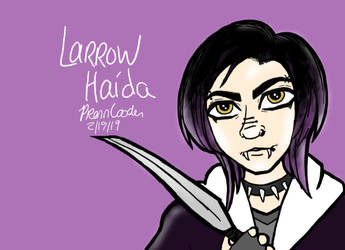 - Larrow Haida Bio - by PrennCooder
