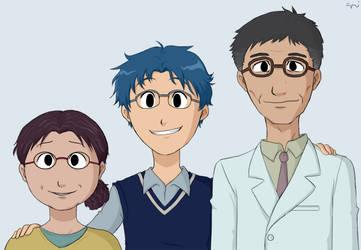 Jyou's Parents by demonoflight