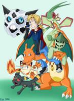 Pokemon Team by demonoflight
