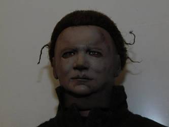 Dick Warlock as Michael Myers. (One sixth scale) by Joel237