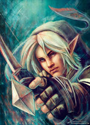 Commission: Link by apfelgriebs
