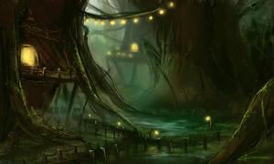 Swamp by apfelgriebs
