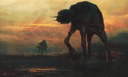 Imperial Walkers by apfelgriebs