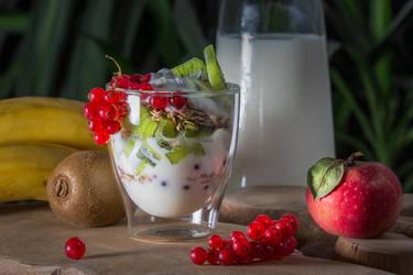 yoghurt breakfast by NellyGraceNG