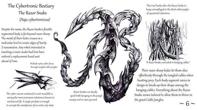 Cybertronic Bestiary Page 6 by ZacWilliam