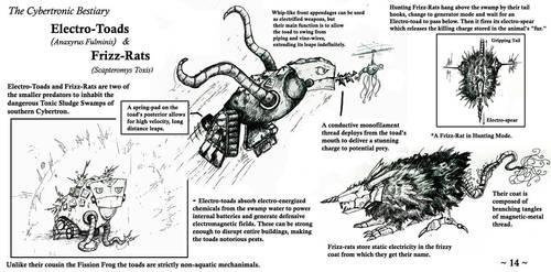 Cybertronic Bestiary Page 14 by ZacWilliam