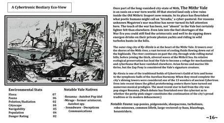 Cybertronic Bestiary: Page 16 by ZacWilliam
