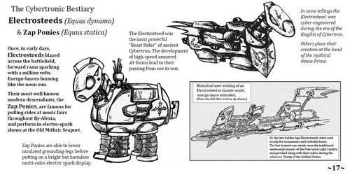 Cybertronic Bestiary Page 17 by ZacWilliam