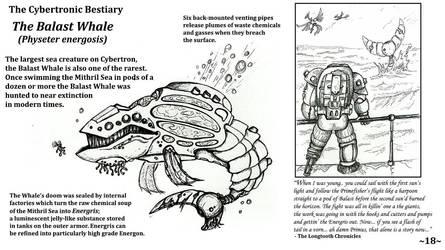Cybertronic Bestiary Page 18 by ZacWilliam