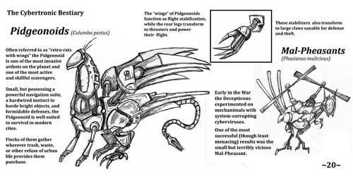 Cybertronic Bestiary Page 20 by ZacWilliam