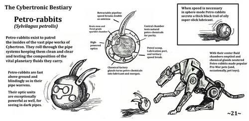 Cybertronic Bestiary Page 21 by ZacWilliam