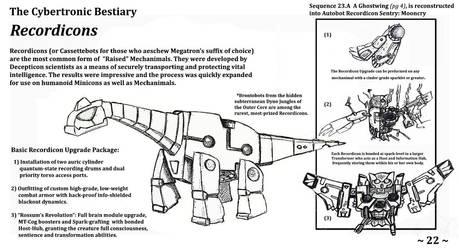 Cybertronic Bestiary Page 22 by ZacWilliam