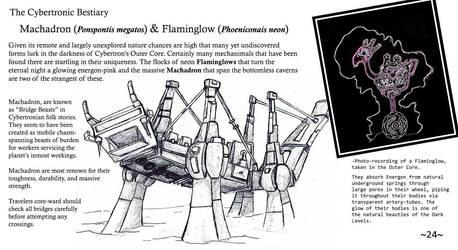 Cybertronic Bestiary Page 24 by ZacWilliam