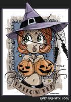 Happy Halloween 2009 by CitizenWolfie