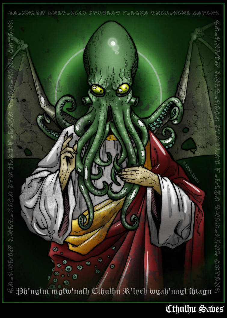 Cthulhu Saves by CitizenWolfie