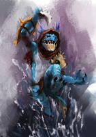 Slark by racoonwolf
