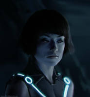Olivia Wilde from Tron by ChrisBjors