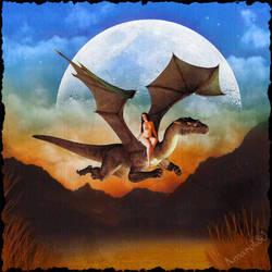DragonRider Godiva by amarok80