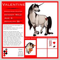 Valentine, the Flamecharmer by BloodyAmnesia