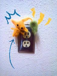 Neddle Felt Yellow Pikmin by Pometree