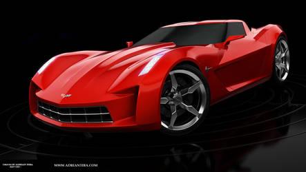 Corvette Stingray by adit1001