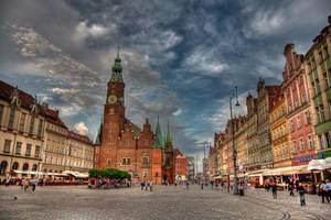 Wroclaw Old Market by DamianMekal