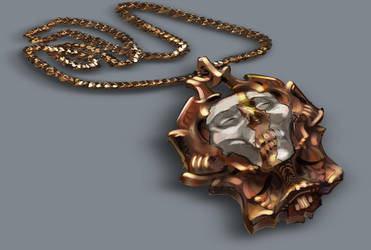 Warlock's Collection - the locket by AnDary