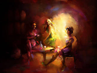 Wine cave by Smygol
