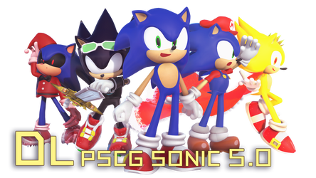 MMD PSCG Sonic v5.0 DL by 495557939
